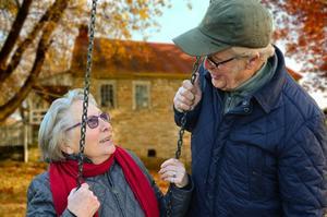 Senioren im Lebensabend