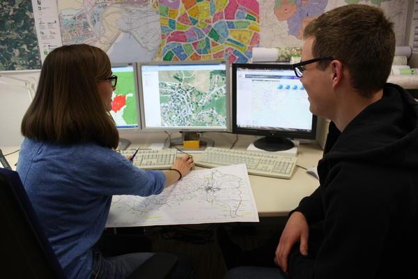 Ausbildung zum Geomatiker