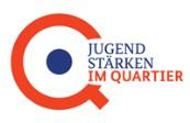 Externer Link: Logo Jugend stärken im Quartier
