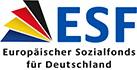 Externer Link: Logo Europäischer Sozialfonds für Deutschland