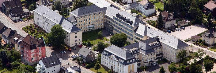 Kreishaus Luftbild