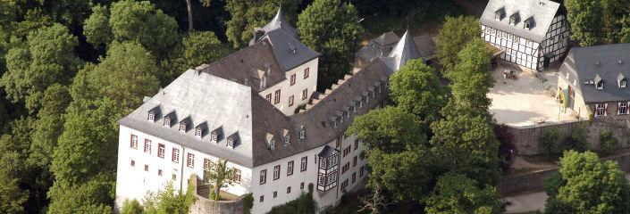 Burg Bilstein Luftbild